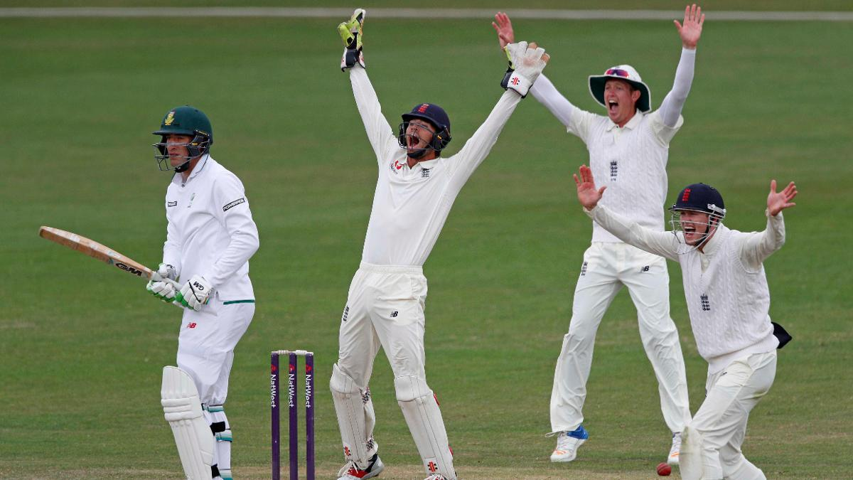 Ben Foakes, Keaton Jennings and Nick Gubbins appeal as England Lions closed in on victory