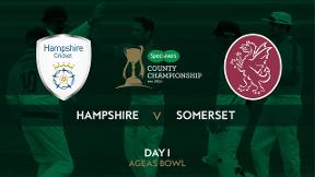 Highlights - Hampshire v Somerset Day 1