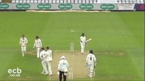 Highlights - Durham v Worcestershire Day 2