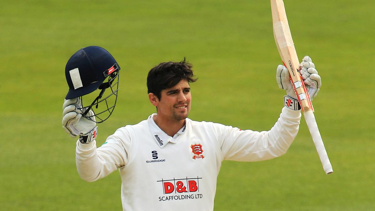 Alastair Cook has six tons for Essex in 2017 and 1,303 runs for the season
