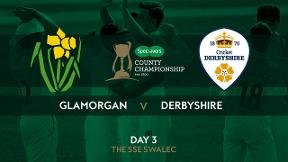 Highlights - Glamorgan v Derbyshire Day 3