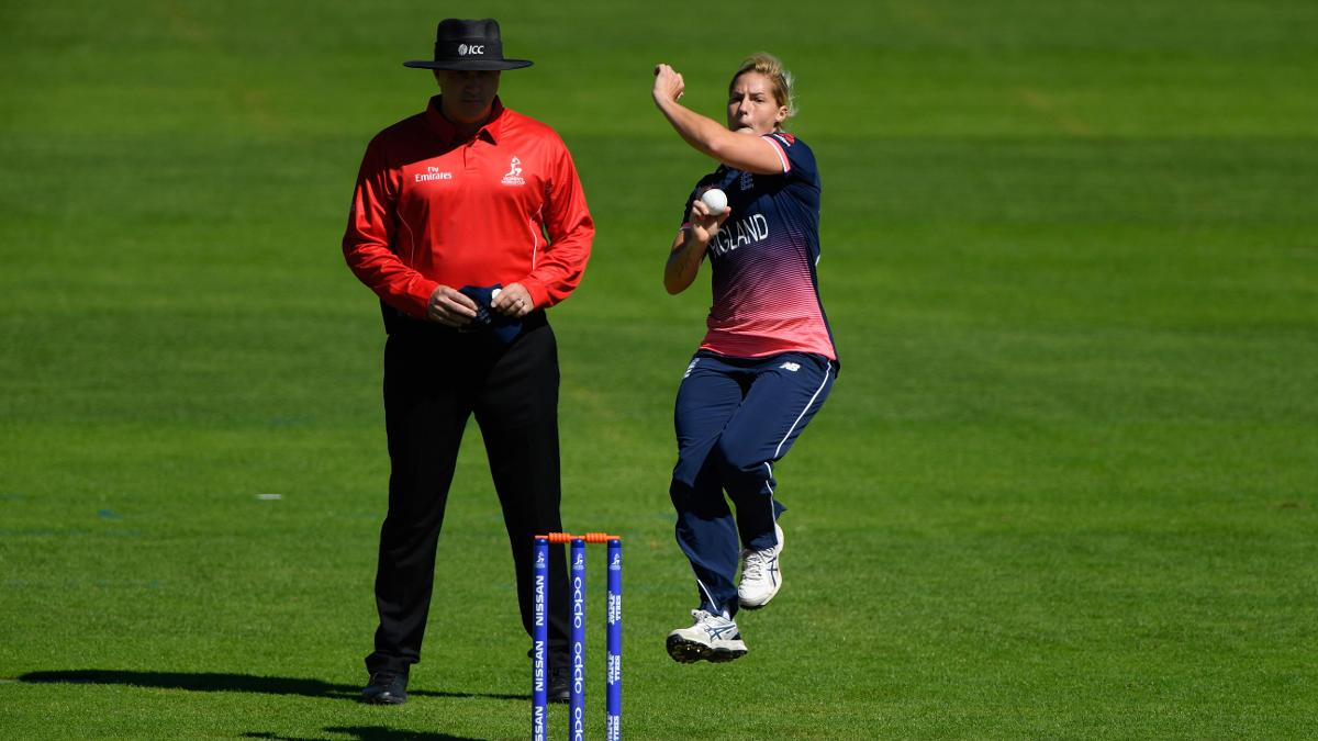 Katherine Brunt was miserly and unfortunate not to take a wicket on her birthday