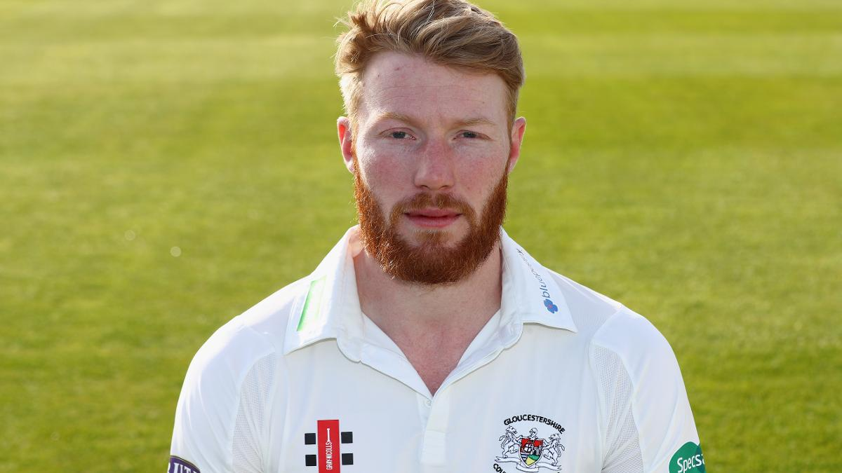 Liam Norwell was in storming form to take five wickets in total on day one