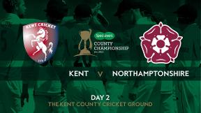 Highlights - Kent v Northamptonshire Day 2