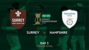Highlights - Surrey v Hampshire Day 3
