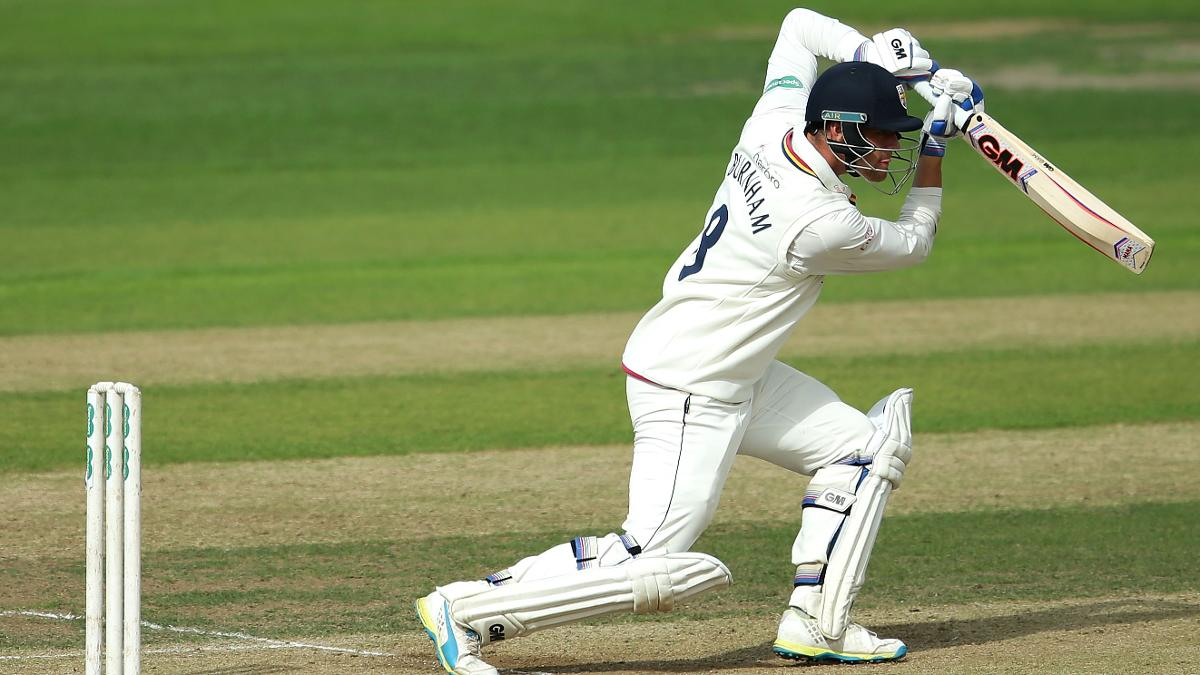 Burnham en route to a match-winning 93*
