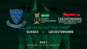 Highlights - Sussex v Leicestershire Day 1