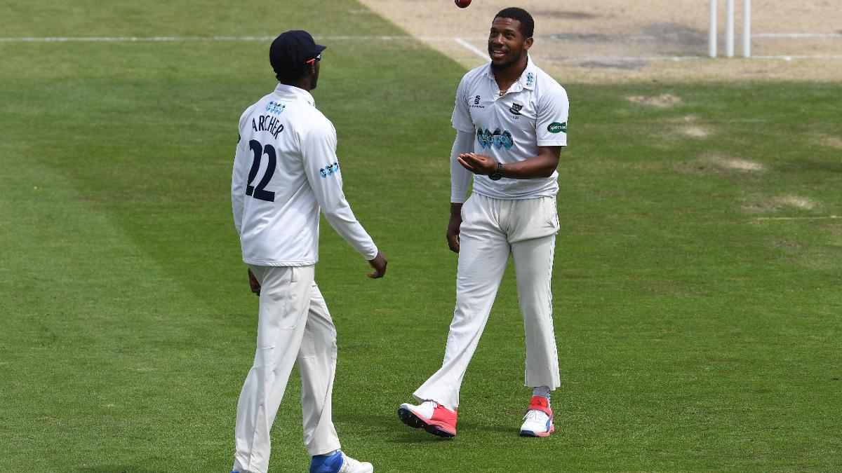Archer and Jordan were the pick of the bowlers, both taking three wickets for Sussex