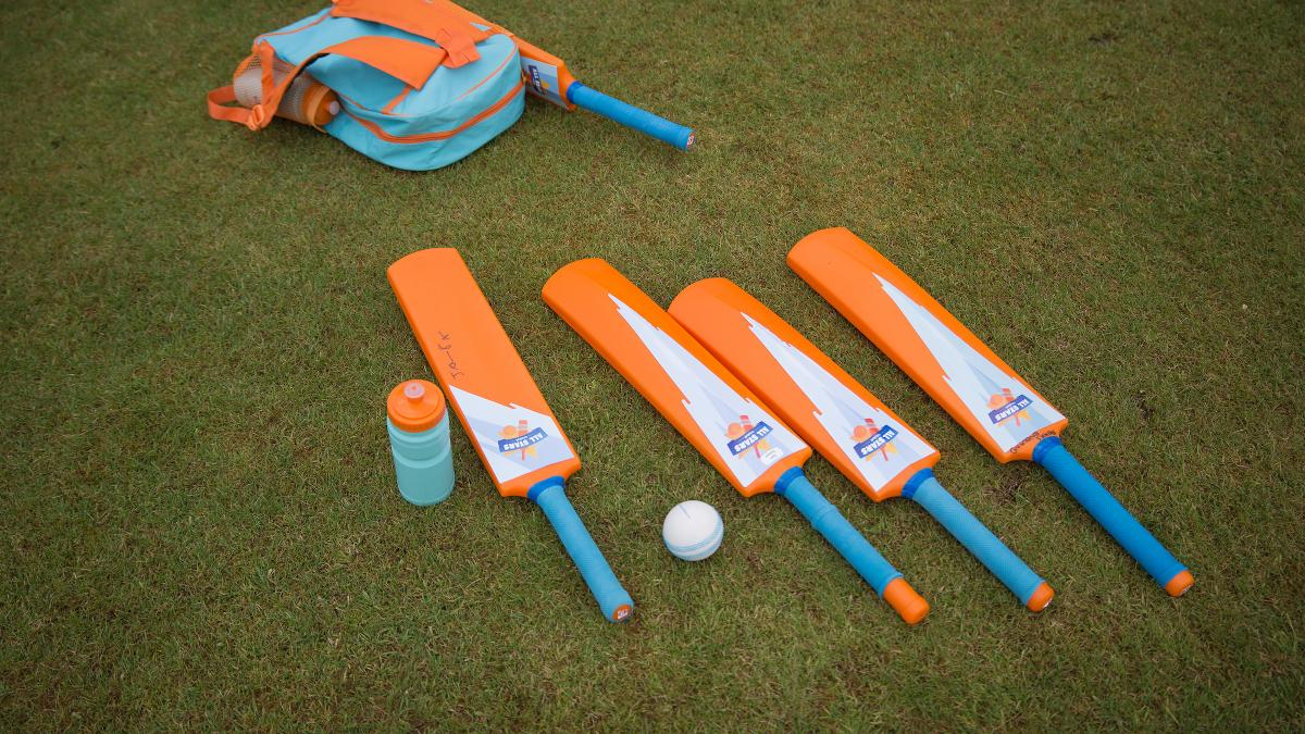 Grab your bat and ball and get playing