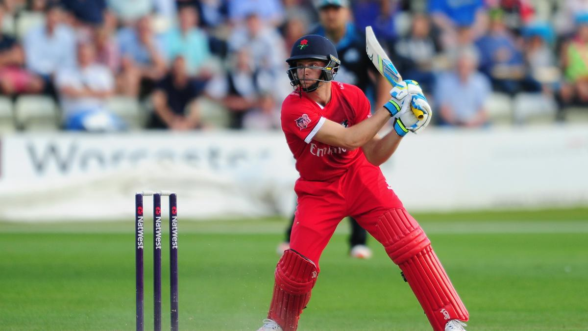 Jos Buttler in action for Lancashire Lightning