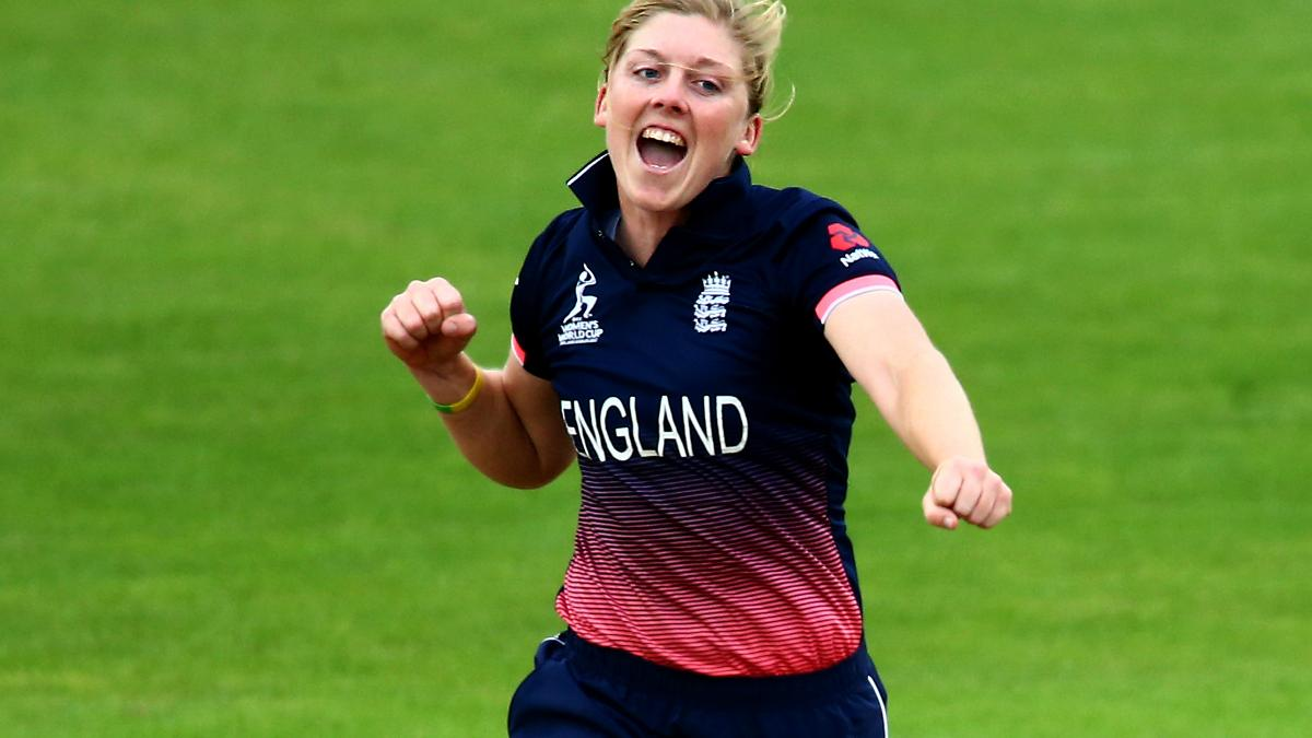 CAPTAIN FANTASTIC - Heather Knight was named Player of the Match for her 67 runs and 1/25