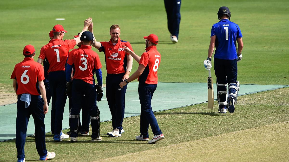 The North v South series took place in UAE in March
