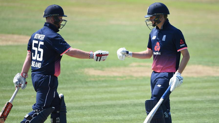 England win 40-over INAS Tri-Series final