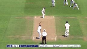 Ballance wicket - lbw Philander