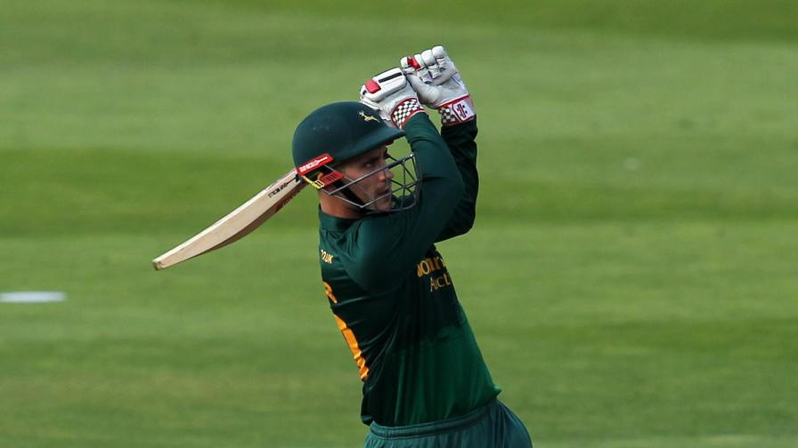 Hales signs white ball contract with Notts