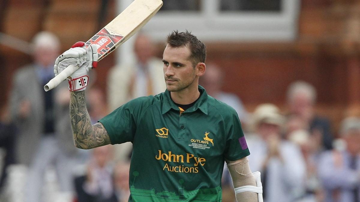 Alex Hales has had a fine Blast for Notts Outlaws