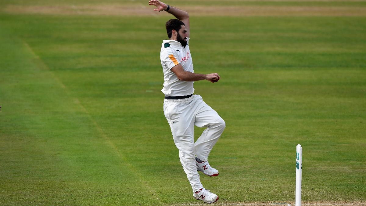 Hutton was in sparkling form to help his side dismiss Derbyshire