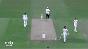 Highlights - Leicestershire v Durham Day 2