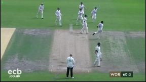 Highlights - Worcestershire v Sussex Day 2