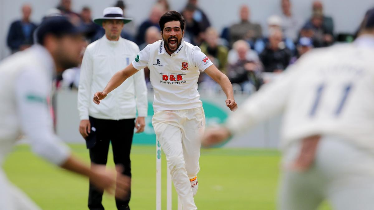 Mohammad Amir took 10 wickets against Yorkshire