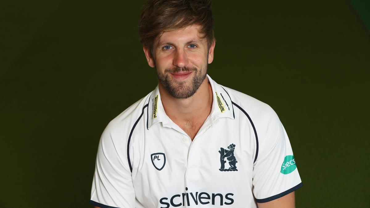 Matt lamb was wise beyond his years, remaining stubborn at the crease for Warwickshire