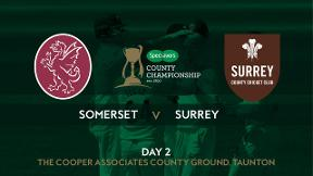 Highlights - Somerset v Surrey Day 2