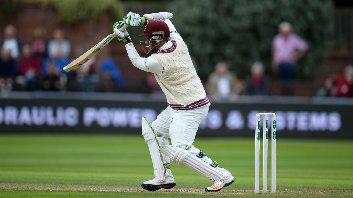 Somerset's Davies will hope to reach his half century on day two