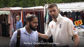 Who sold more NatWest wristbands - Sam Billings or Mark Wood?