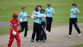 KSL highlights - Lancashire Thunder v Surrey Stars