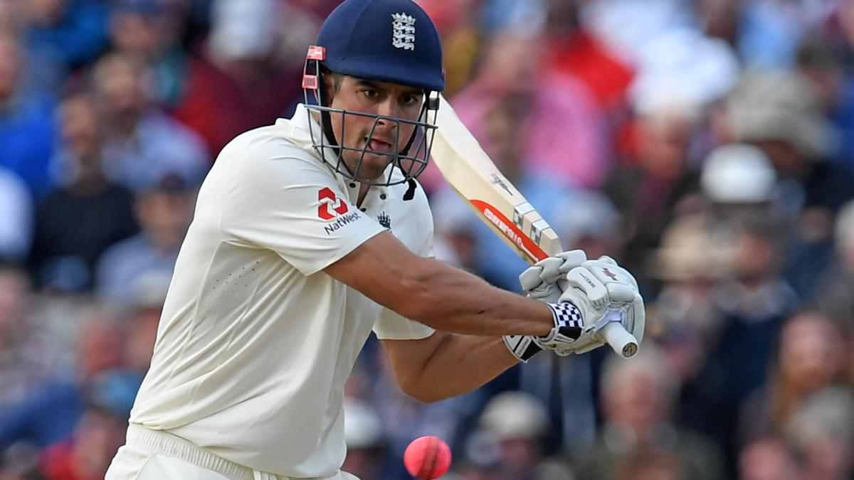 RUN MACHINE - Alastair Cook made 243 from 407 balls in a supreme innings
