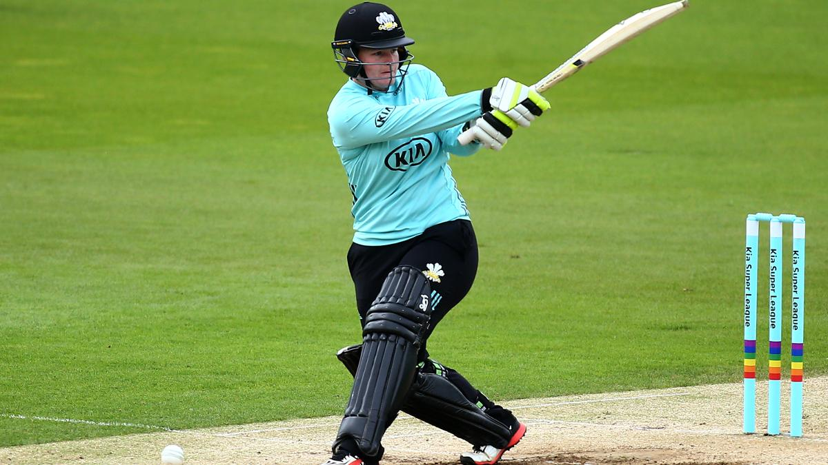 Lizelle Lee hit six sixes and seven fours in her innings