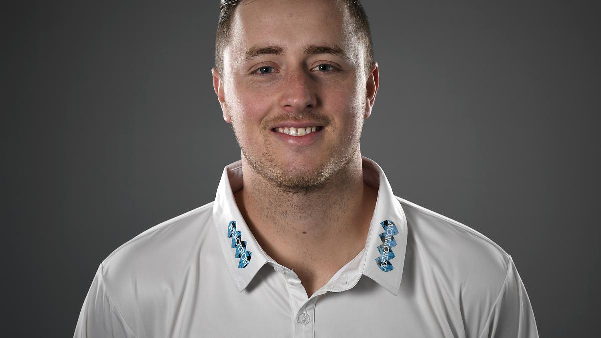 Ollie Robinson was the stand-out performer for Sussex