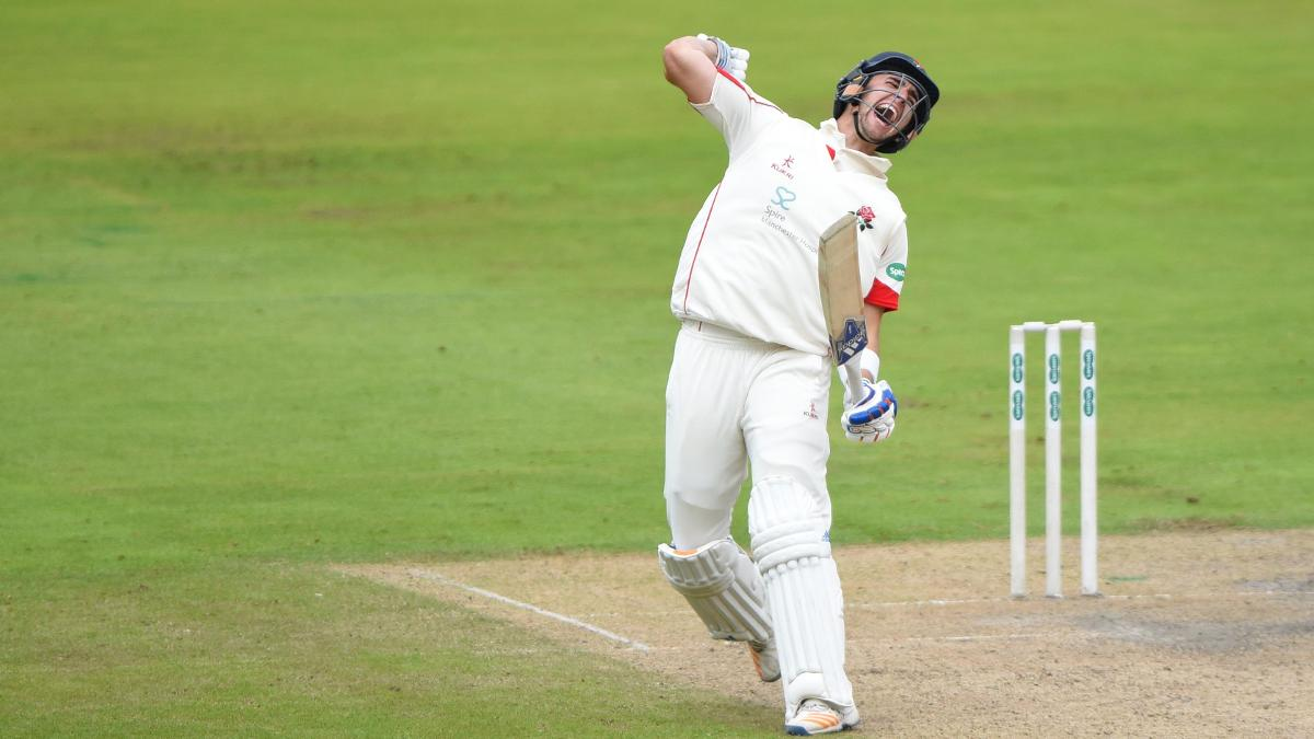 Liam Livingstone hit a magnificent double ton for Lancashire last time out