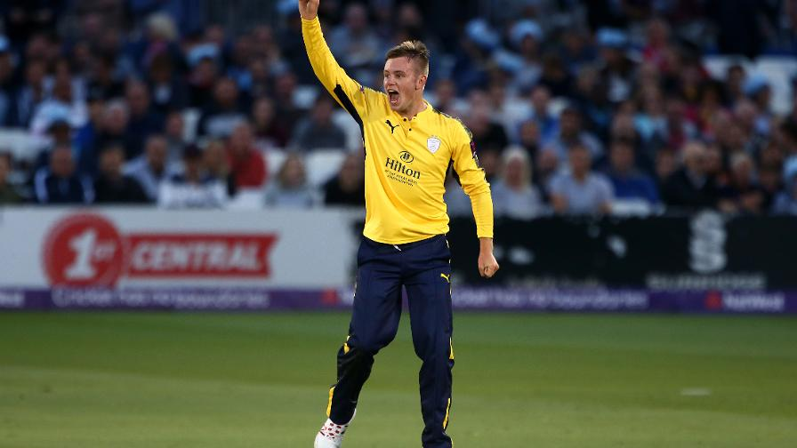 Mason Crane has 17 wickets in the T20 Blast this season, the most for Hampshire