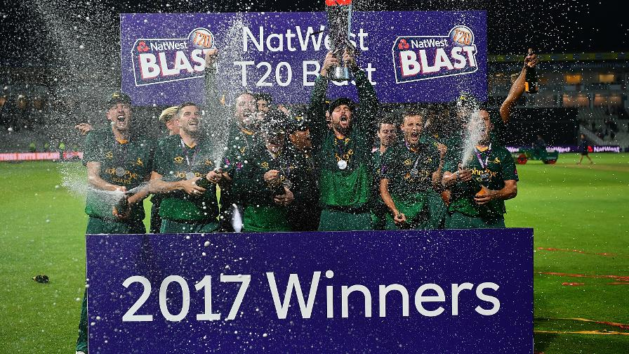 Your NatWest T20 Blast 2017 Champions are Notts Outlaws!