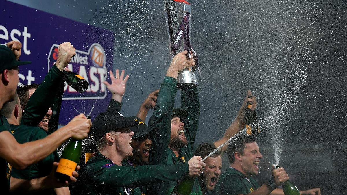 Notts Outlaws are the 2017 T20 Blast champions