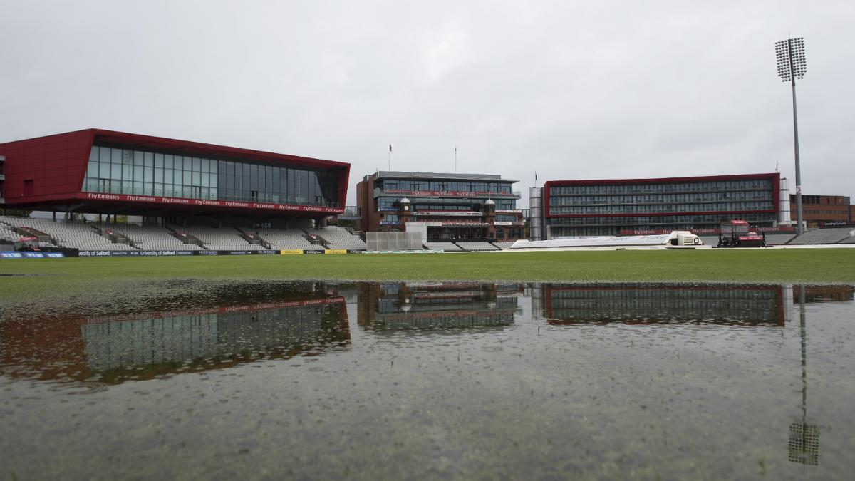 RAIN RAIN GO AWAY - A total of 30 balls have been bowled across both divisions this morning