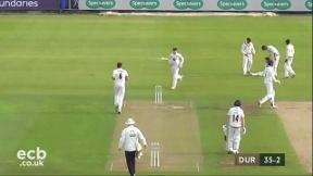 Highlights - Durham v Kent Day 1