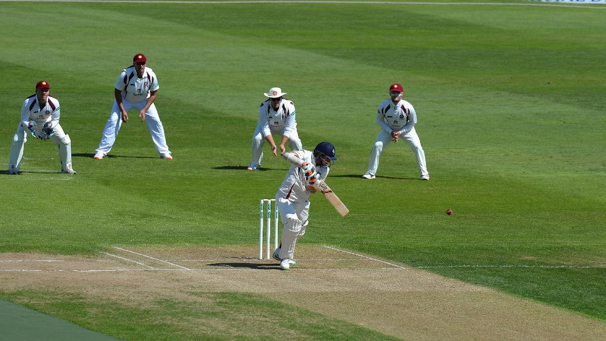 Latham is batting nicely with 64 off 150 balls