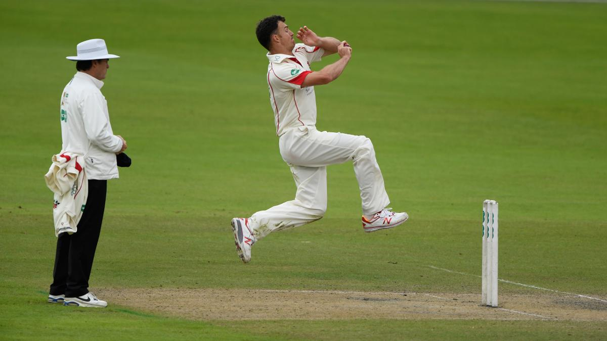 Ryan McLaren was eager with the ball, collecting two wickets before the end of play