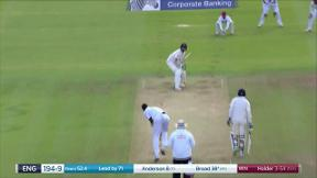 Broad caught Dowrich bowled Holder