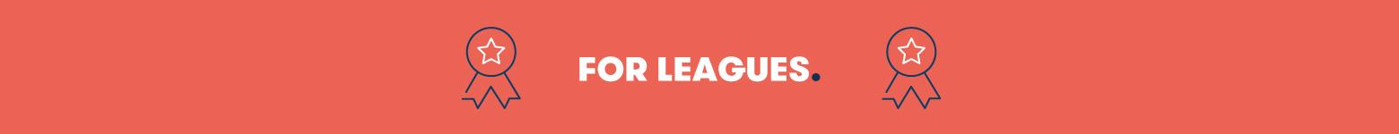 Leagues Image with an Orange background