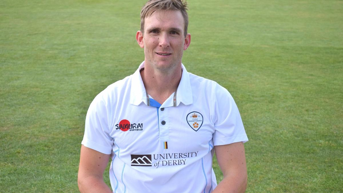 Hardus Viljoen became the first Derbyshire player to take 15 wickets in a match since Cliff Gladwin in 1952