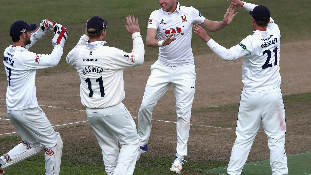 LITTLE CHEF - Sam Cook took his maiden five-for as Essex beat Hampshire