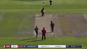 Root takes brilliant catch to remove Gayle