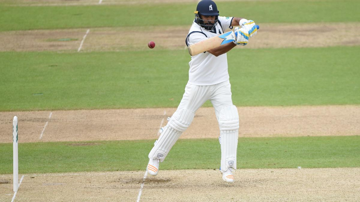 Patel hit 17 fours in his century
