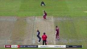 Bairstow takes fantastic catch to remove Hope