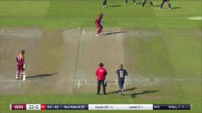 Gayle thumps Willey for huge six