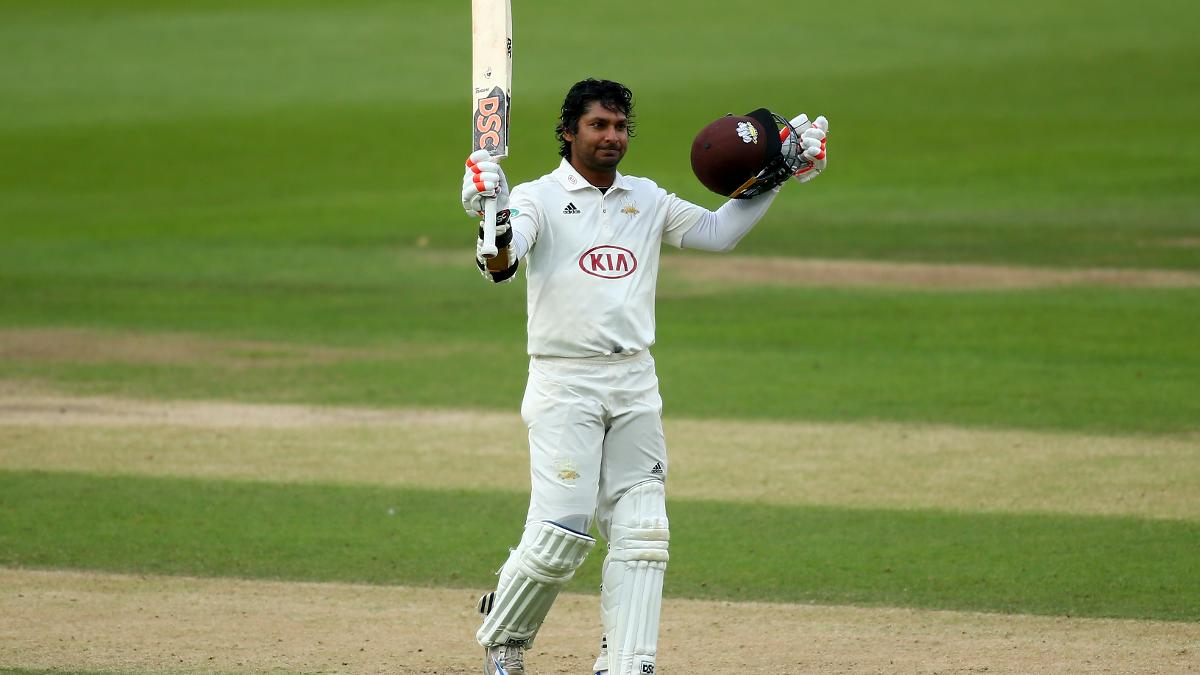 Sangakkara made it eight County Championship centuries in 2017