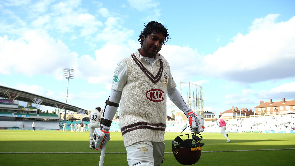 Sangakkara departs on his final Surrey appearance at the Kia Oval